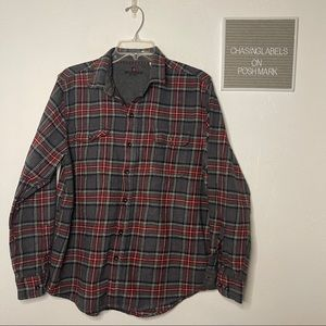 Woolrich | women's flannel button down shirt plaid